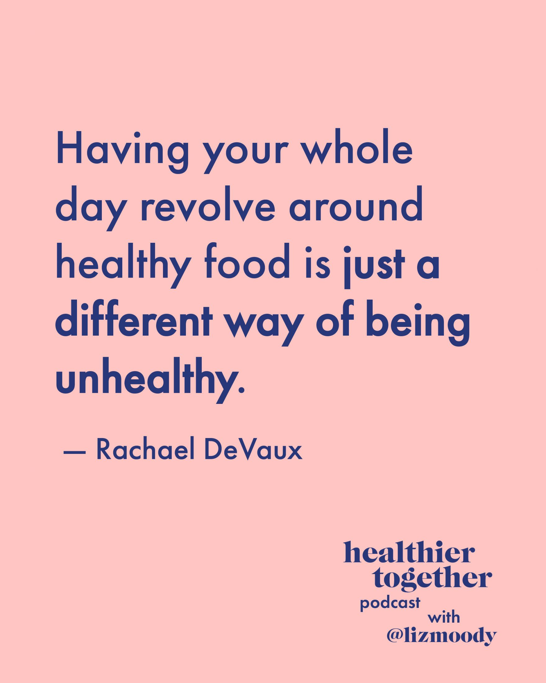 Rachael DeVaux Answers Every Healthy Eating Question: Losing Weight, Balancing Hormones & Healing Gut Issues
